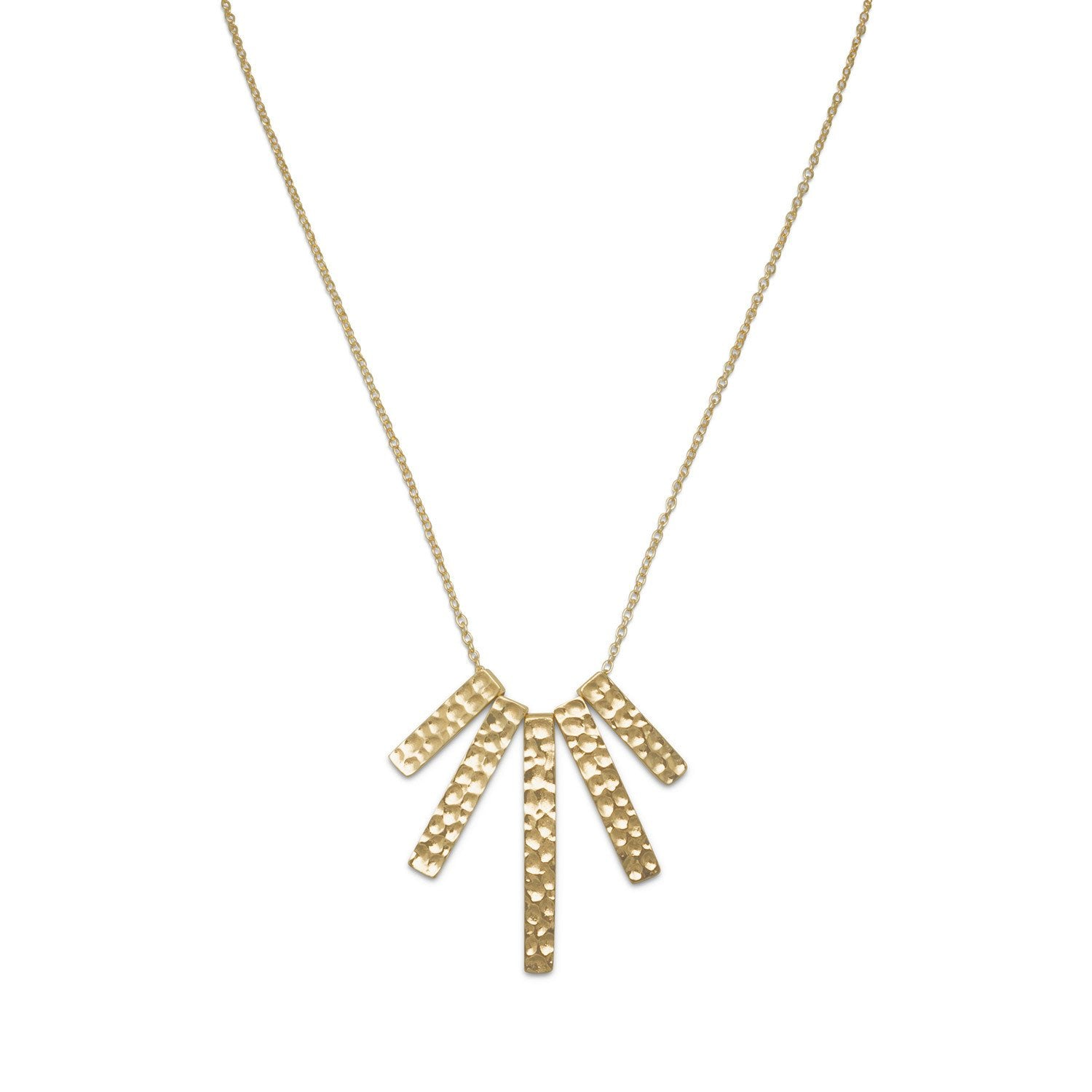 hexagon necklace products carat gold only edge in