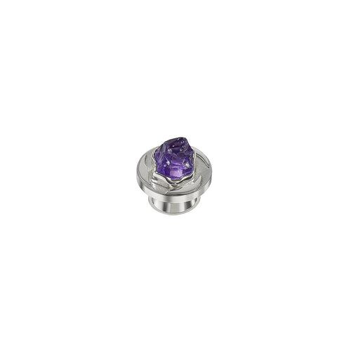 Ring wheel of health Amethyst