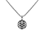 Pendant Flower of Life Black Onyx