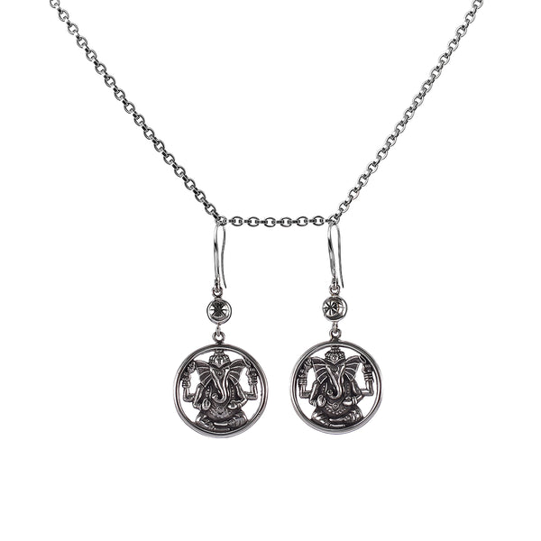 Earrings Ganesha