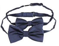 Matching Color Kids Men Bowties Pre Tied Bow Ties Set for Baby Boys and Daddy - Socksn'Ties