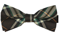 CREAM Mens Plaid Tuxedo Bow Tie - Socksn'Ties