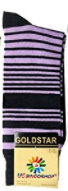 USBingoshopTM Mens Cotton Purple Dress Socks - Socksn'Ties