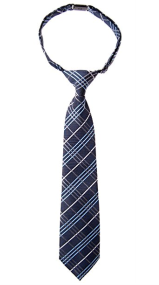 Retreez Tartan Plaid Styles Woven Microfiber Pre-tied Boy's Tie - Various Colors - Socksn'Ties