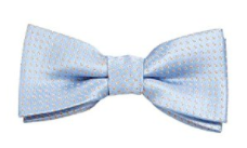 Bundle Monster Stylish Blue Gray Adjustable Boys Bow Tie - Socksn'Ties
