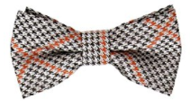 Bundle Monster Stylish Orange Adjustable Boys Bow Tie - Socksn'Ties