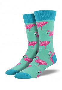 Flamingo socks - Socksn'Ties