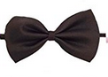 Glittermall Brown Adjustable Boys Kids Bow Tie - Socksn'Ties