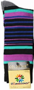 USBingoshopTM Mens Cotton Dress Socks 3 MORADO - Socksn'Ties