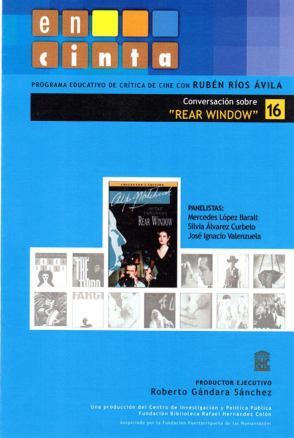 En cinta 16: Conversación sobre <i>Rear Window</i>