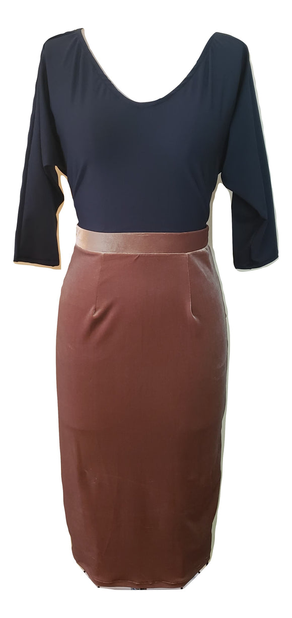 Toni Skirt in Gold - Retro Peaches Vintage Dresses