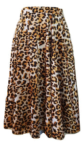 Ethel Skirt in Leopard