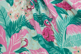 Carmen Caftan - Flamingo - Retro Peaches Vintage Dresses