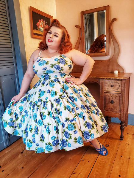 Daisy Dress - Retro Peaches