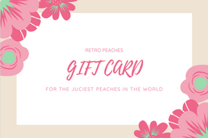 Gift Card - Retro Peaches Vintage Dresses