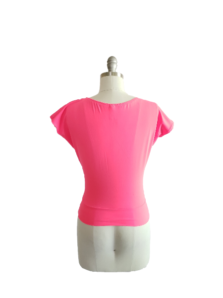Lucy Top - Hot Pink - Retro Peaches