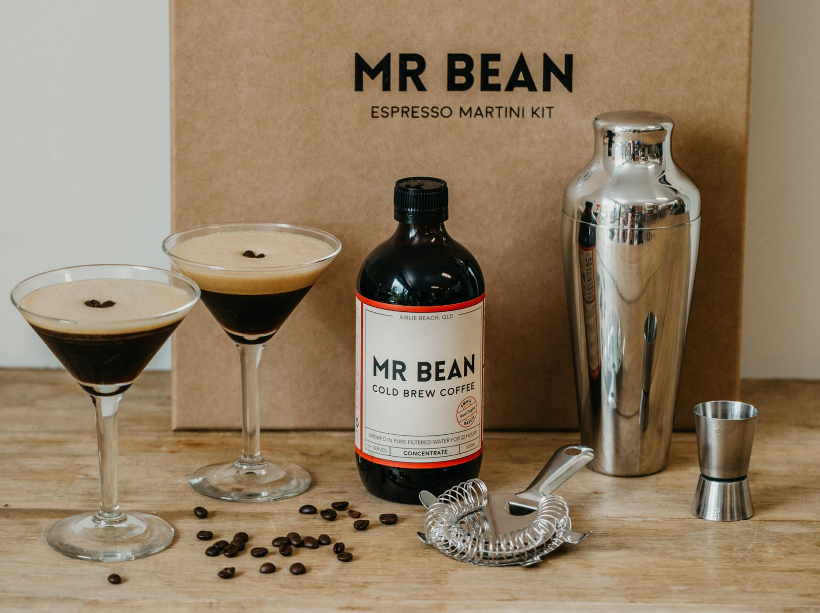 Espresso Martini Cocktail Kit Mr Bean Cold Brew Coffee