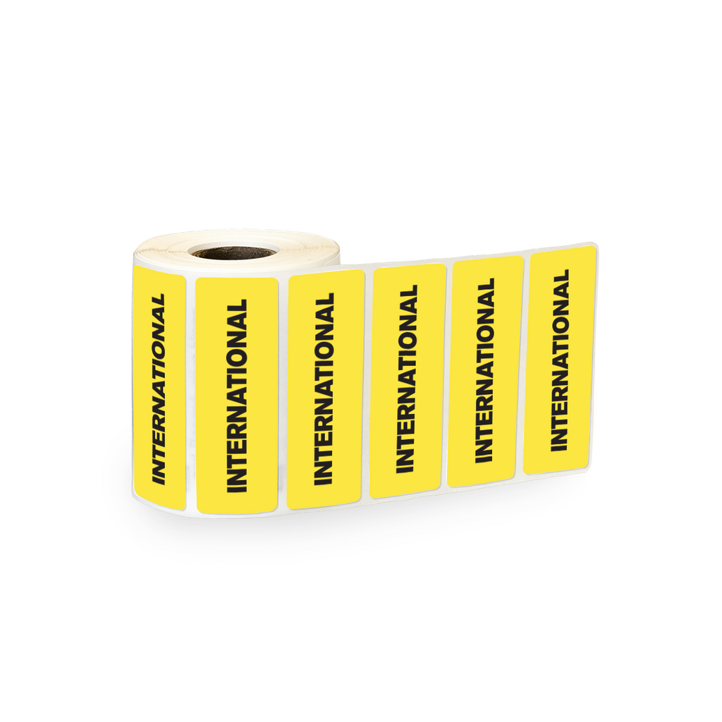 "International Industrial Labels - 3""x1"" Roll of 500"