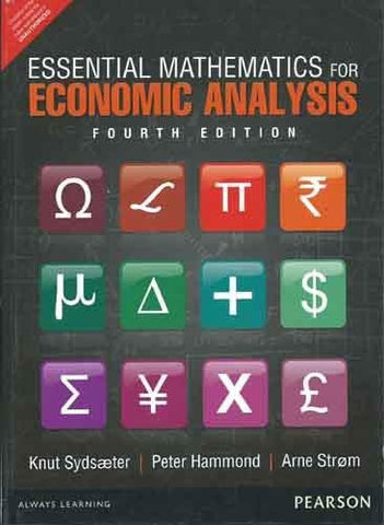 Essential Mathematics for Economic Analysis (4th Edition)