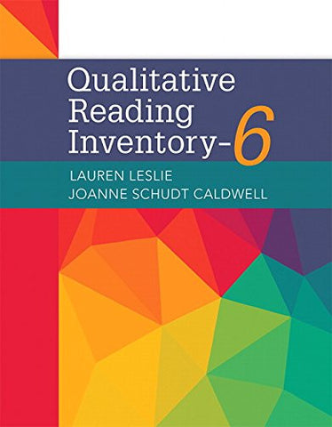 Qualitative Reading Inventory (6th Edition)