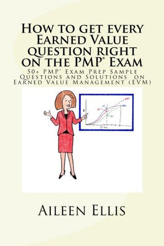How to get every Earned Value question right on the PMP® Exam: 50+ PMP® Exam Prep Sample Questions and Solutions  on Earned Value Management (EVM)