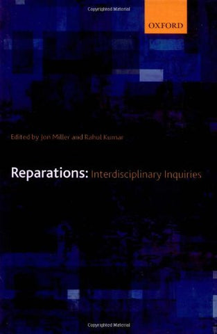 Reparations: Interdisciplinary Inquiries
