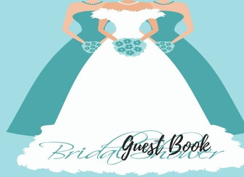 Guest Book: Guest Book Bridal Shower, For Over 200 Guests. Free Layout To Use as you wish for Names & Addresses, or Advice, Wishes, Comments or Pr