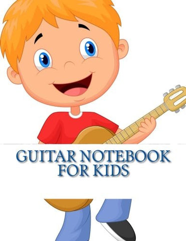 Guitar Notebook For Kids
