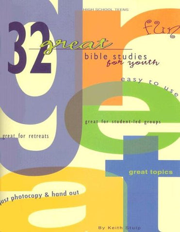 32 Great Bible Studies for Youth