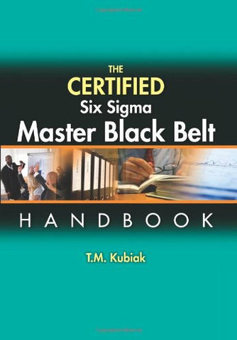 The Certified Six Sigma Master Black Belt
