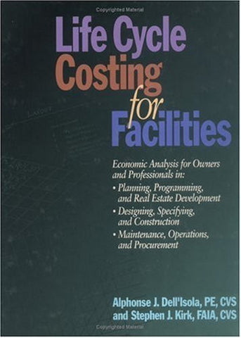 Life Cycle Costing for Facilities (RSMeans)
