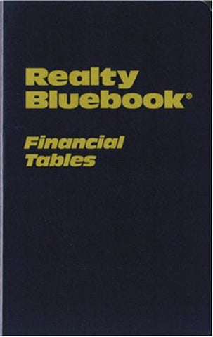 Realty Bluebook Financial Tables