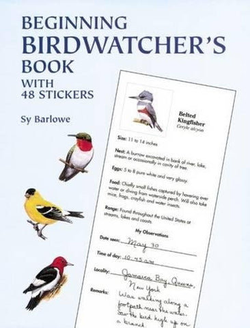 Beginning Birdwatcher's Book: With 48 Stickers (Dover Children's Activity Books)