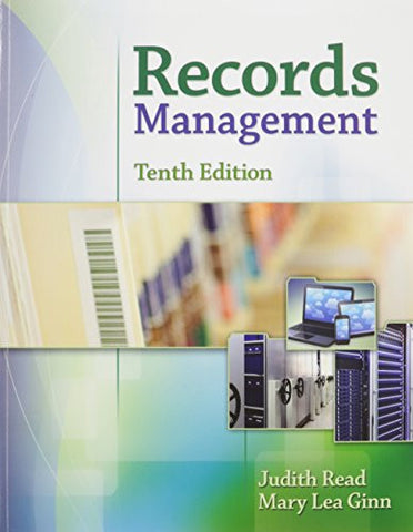 Bundle: Records Management, 10th + MindTap Office Management,1 term (6 months) Printed Access Card + Records Management Simulation