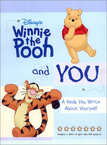 Disney's Winnie the Pooh and You: A Book You Write About Yourself