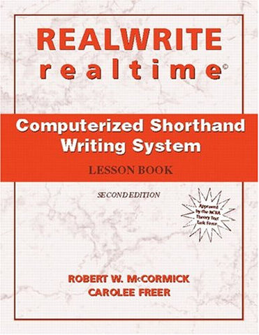 REALWRITE/realtime Computerized Shorthand Writing (2nd Edition)
