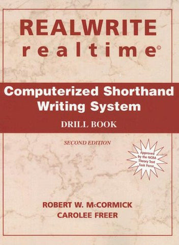 RealWrite Realtime: Computerized Shorthand Writing System- Drillbook