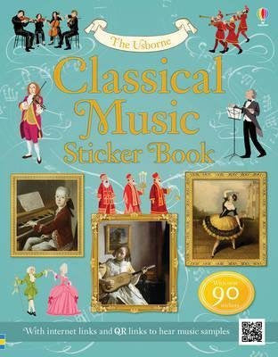 Classical Music Sticker Book (Sticker Reference)