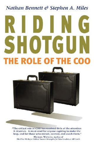 Riding Shotgun: The Role of the COO, Updated Edition