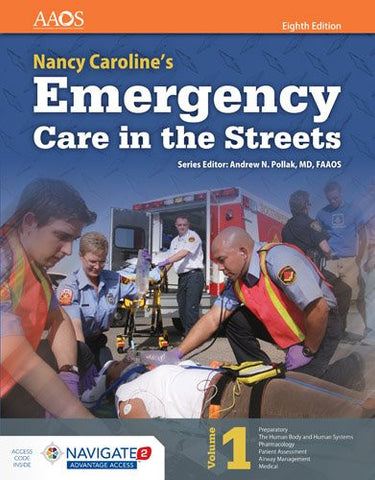Nancy Caroline's Emergency Care in the Streets + Navigate 2 Advantage Passcode