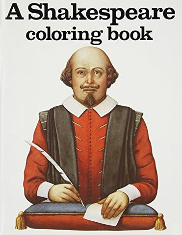 A Shakespeare Coloring Book