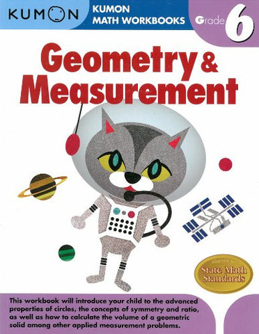 Geometry & Measurement Grade 6 (Kumon Math Workbooks)