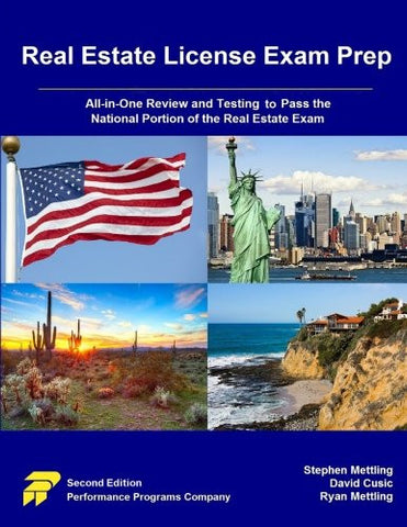 Real Estate License Exam Prep: All-in-One Review and Testing to Pass the National Portion of the Real Estate Exam