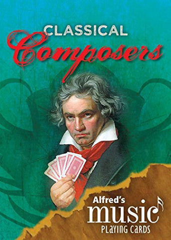 Alfred's Music Playing Cards -- Classical Composers: 1 Pack (Card Deck)