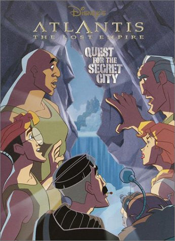 Atlantis: Quest for the Secret City (Super Coloring Time)