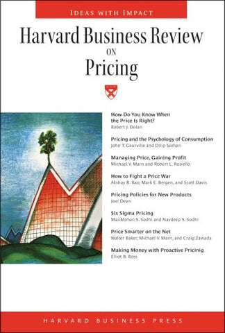 Harvard Business Review on Pricing (Harvard Business Review Paperback)