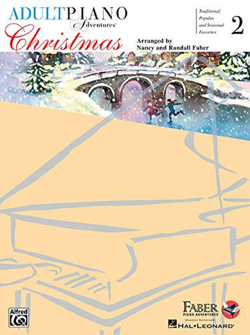 Adult Piano Adventures Christmas - Book 2 Book & Online Audio