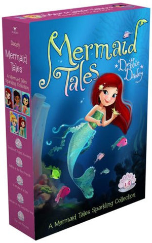 A Mermaid Tales Sparkling Collection: Trouble at Trident Academy; Battle of the Best Friends; A Whale of a Tale; Danger in the Deep Blue Sea; The