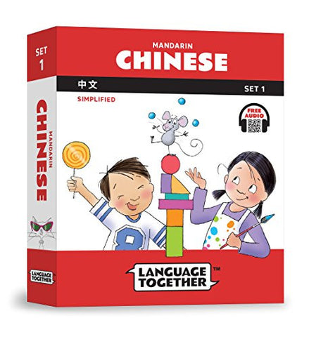 Language Together Chinese Set One: Ten Books with Online Audio (Simplified)