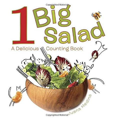 1 Big Salad: A Delicious Counting Book